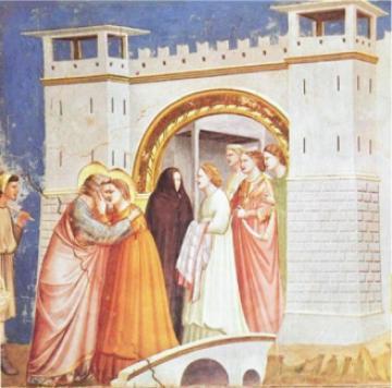乔托·迪·邦多纳(Giotto di Bondone) 作品:金门 让人拥抱神圣之感及肃穆之美