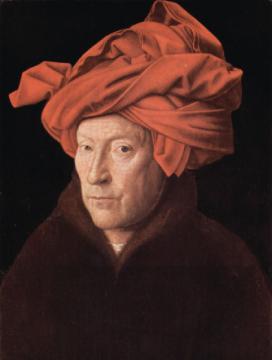 荷蘭画家范艾克(Van Eyck) 以精密描写和微妙光影作品闻名