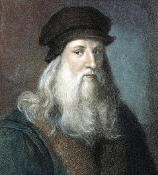 扮演多重角色 达文西(Leonardo da Vinci) 文艺复兴时代的巨匠