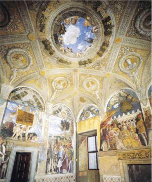 曼帖那(Andrea Mantegna) 延袭达文西的创作风格