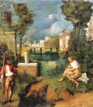 创作调和光与色画风 吉奥乔尼(Giorgione) 获世人赞誉为伟大画家