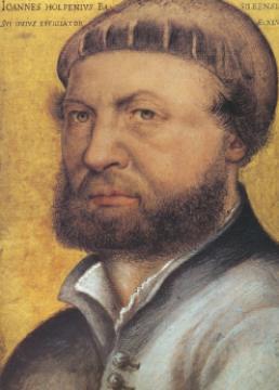 北欧地区最有成就画家 霍尔班(Holbein)画作十分细腻精致