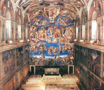 米开朗基罗Michelangelo Buonarroti 雕刻、绘画、建筑的巨擘