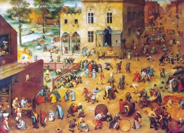 老布勒哲尔 Pieter Bruegel the elder 画中蕴藏着讽刺及寓意