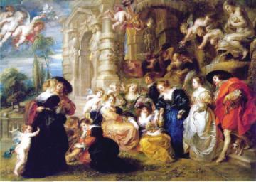 通晓7国语言熟悉建筑业 鲁本斯(Sir Peter Paul Rubens)