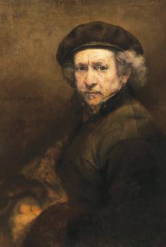 传人艺术大师 林布兰(Rembrandt van Ryn)