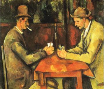 后期印象派代表画家 塞尚Paul Cezanne