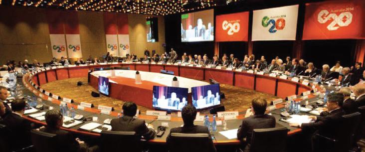 20国集团峰会(G20 Summit) 达成两共识 提振经济增长及保持政策宽松
