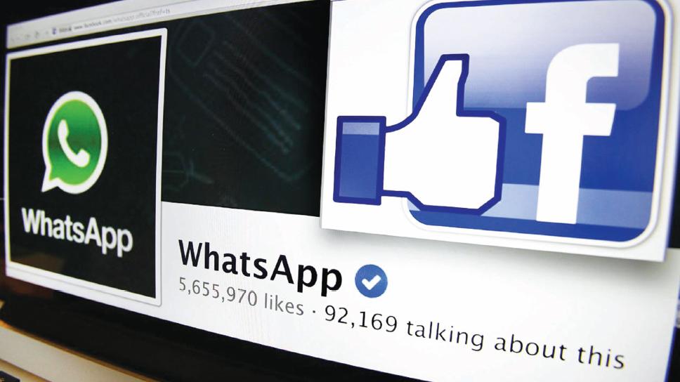 面子书(Facebook) 天价收购WhatsApp 科技公司再创造神话