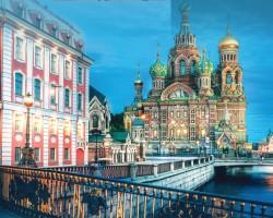"""俄罗斯(Russia)最欧化城市 圣彼得堡(Saint Petersburg) 拥有""""北方威尼斯""""之美称"""