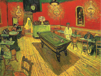 世界名画系列 一代艺术界天才 梵谷(Vincent Van Gogh) 最爱以蓝色与黄色诉说心情