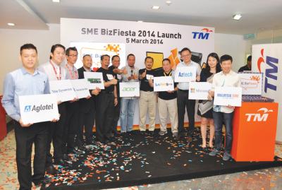 马来西亚电讯公司(TM)为中小型企业 再次举办SME Bizfiesta
