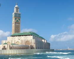 摩洛哥(Morocco)第一大城市 卡萨布兰卡 (Casablanca) 洋溢着多彩的情调与风情