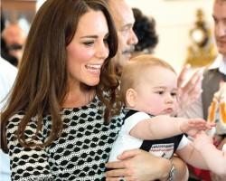 凯瑟琳(Kate Middleton) 与乔治王子(Prince George) 强劲风头横扫全球