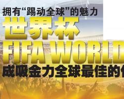 """拥有""""踢动全球""""的魅力 世界杯(FIFA World Cup) 成吸金力全球最佳的体育品牌"""