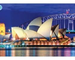 """""""南半球的纽约"""" 悉尼(Sydney) 金光闪耀白帆逐浪的海港"""