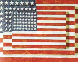 不断自我挑战 杰斯伯·強斯Jasper Johns 与伟大画家们平起平坐