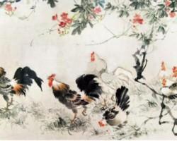 中国(China)现代画家 王雪涛 擅长小写意花鸟画作