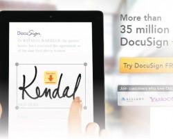 美国(United States)电子签名公司 DocuSign公司 获国际公司青睐及注资