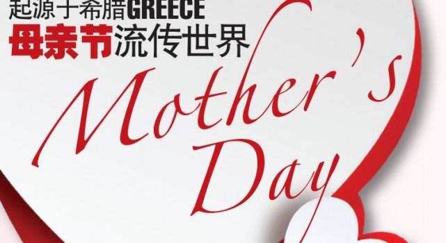 起源于希腊(Greece) 母亲节(Mother's Day)流传世界