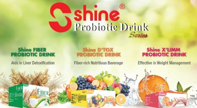SHINE PROBIOTIC DRINK产品系列 为肠道健康带来双重效应