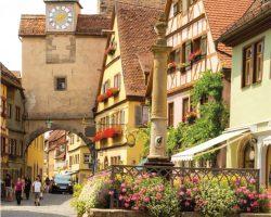 隐藏着欧洲(Europe)中世纪村庄 德国巴伐利亚(Bavaria,Germany) 童话城堡、魔法森林令人响往