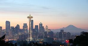 美国(United States) 西雅图(Seattle) 城市幸运以及浪漫代名词