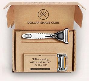 男人脸部用品专属网站 Dollar Shave Club 成为当代电子商务的宠儿