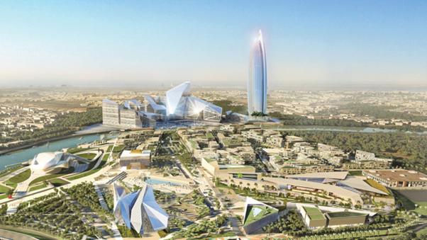 中国(China)与摩洛哥(Morocco)  合建非洲(Africa)第一高楼