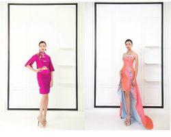 马来西亚(Malaysia)著名时装设计师 纪添兴(Keith Kee) 新装展现梅花开花与盛放的浓浓春意