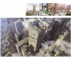 住友林业建筑公司计划 东京Tokyo建全球最高木造摩天大楼