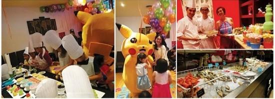 隆市万丽酒店(Renaissance Hotel Kuala Lumpur) TEMPTationS餐厅推出Kids' Extravaganza