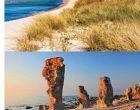 瑞典(Sweden)最东部省份 哥得兰岛(Gotland) 海景和阳光让游客如浴春风