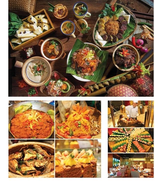 灵市万达酒店(One World Hotel Petaling Jaya)旗下 Cinnamon Coffee House 推出Juadah Nusantara套餐迎开斋节