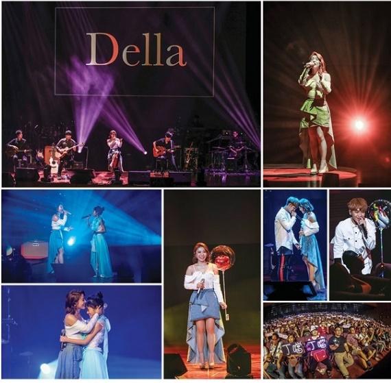 """丁当(Della Wu)""""想恋一个爱"""" 一恋十年马来西亚演唱会 唱足将近3小时歌迷high翻天"""