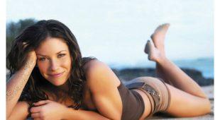 加拿大(Canada)著名女星 伊凡洁琳莉莉(Evangeline Lilly) 凭着嬉戏的魅力和天分跻身好莱坞