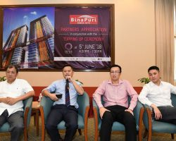 高峰控股(Bina Puri)旗下  吉隆坡OPUS项目(OPUS Kuala Lumpur)    6月5日举办封顶仪式