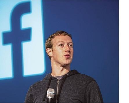 脸书(Facebook)股价猛挫  创始人扎克伯格(Zuckerberg)  身家缩水至660亿美元