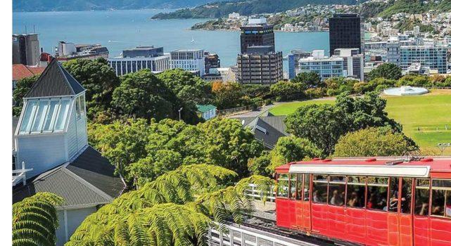 """拥有""""世界上最酷小首都之一""""美誉  纽西兰惠灵顿(Wellington,New Zealand)  前卫而不觉高冷孤傲"""