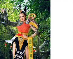 Debra Jeanne Poh代表马来西亚  角逐第六届全球万国小姐选美大赛(Miss Grand International)殊荣