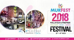 第五届马来西亚都市怡疗节(MURFEST) 11月2日至4日e.City Hotel @ OneCity举办