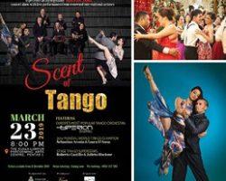 """探戈舞盛会""""Scent of Tango""""  隆市表演艺术中心隆重登场"""