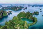下龙湾(Vinh Ha Long)  广宁省规划与展览宫(QNENEC)  每年吸引无数国际游客