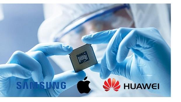 2018年全球芯片买家排名  三星名列榜首苹果第二华为第三