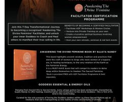 SUJATA NANDY Awakening The Divine Feminine Facilitator Certification Programme