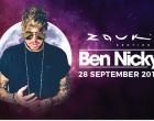 英国著名DJ Ben Nicky  9月28日登上Zouk Genting