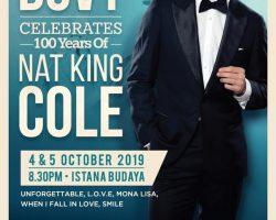 Yannick Bovy 'Celebrates 100 Years Of Nat King Cole'
