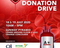 QI集团和RYTHM基金会 联合举办捐血运动