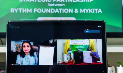 与MyKita以虚拟方式签署备忘录 RYTHM基金会参与Insaniah项目