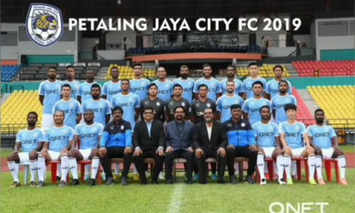 PJ City Football club成立三周年 拿督斯里威杰埃斯瓦兰发贴文祝贺